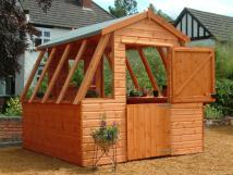 Potting Shed Greenhouse Plans