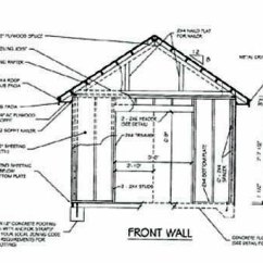 Wiring Diagram House To Shed Liftmaster Garage Door Opener Drawings : I Got Building For Dummies Last Christmas | Plans Kits