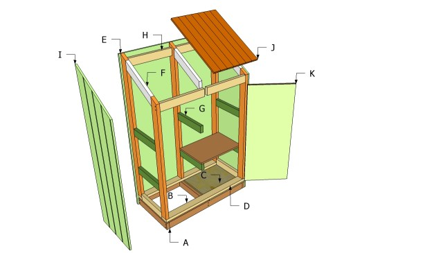 Free tool shed plans online ~ Nomis