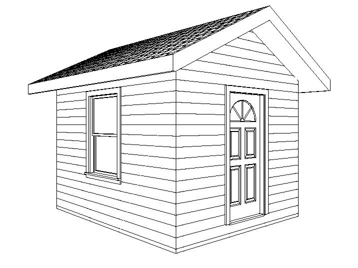 10×12 Shed Plans : Add Space With A Wood Garden Shed