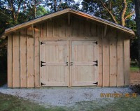 Build Shed Doors : I Got Shed Building For Dummies Last ...