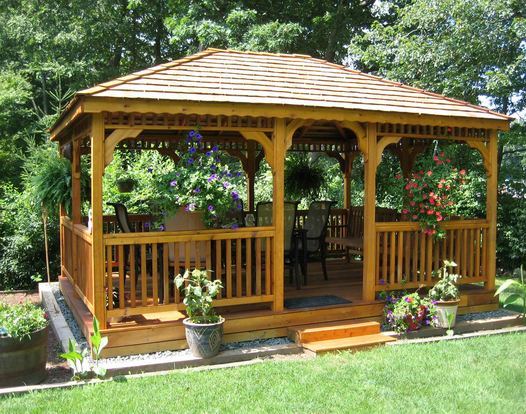 Gazebos  Wooden Garden Shed Plans Compliments Of Build