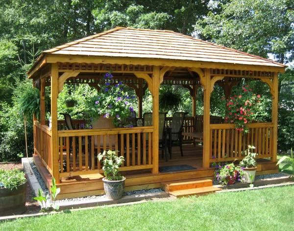 gazebos wooden garden shed plans