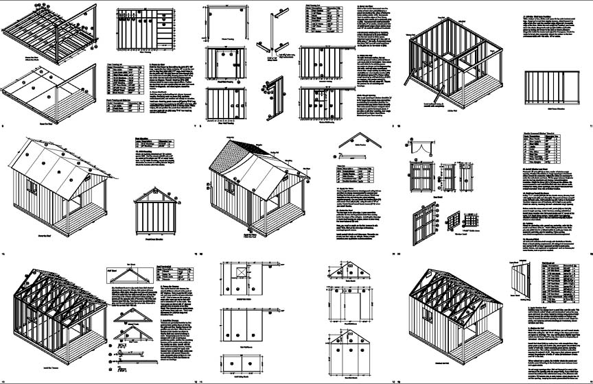 Free 14 X 24 Shed Plans : Woodworking Project-free Shed