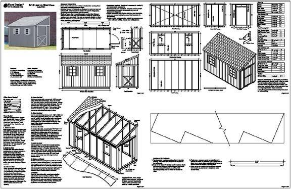 Free Shed Plans 4×8 : Sheds Blueprints 7 Steps To Building