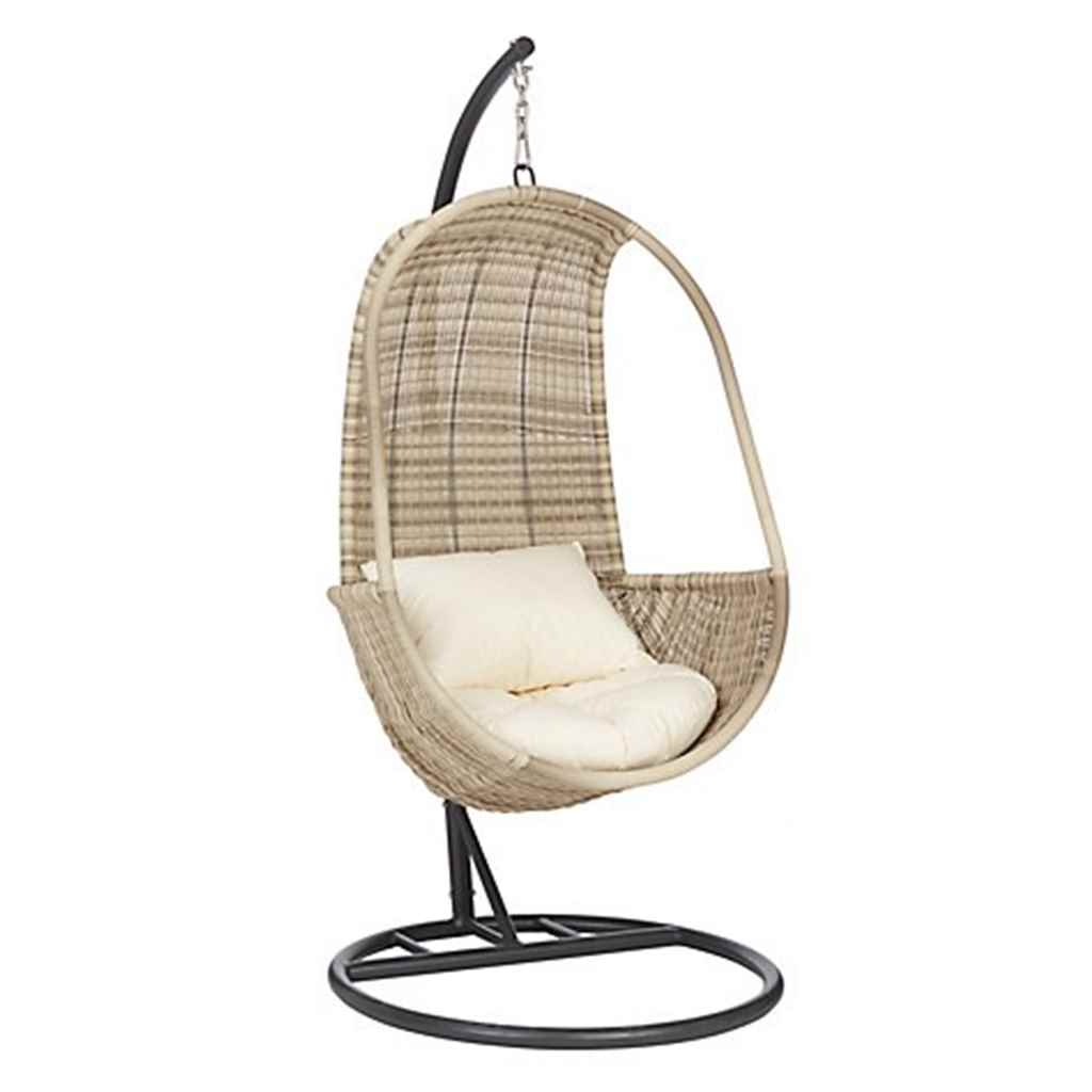 Hanging Egg Pod Chair Shedswarehouse Garden Furniture Wentworth Rattan