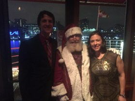 Dan's holiday party at Rusty Scupper