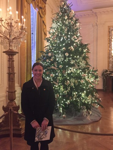 Me in the East Room on the WH Holiday Tour