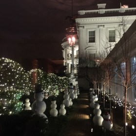 White House Holiday tour