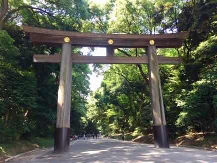 Meiji-jingu entrance