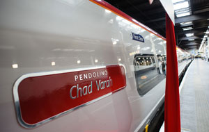 Chad Virgin-train-naming