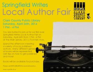 2014 Author Fair