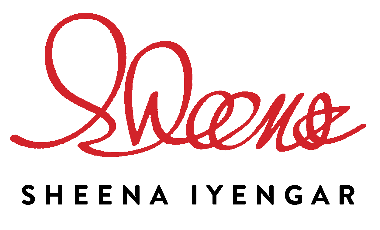 Sheena Iyengar's signature