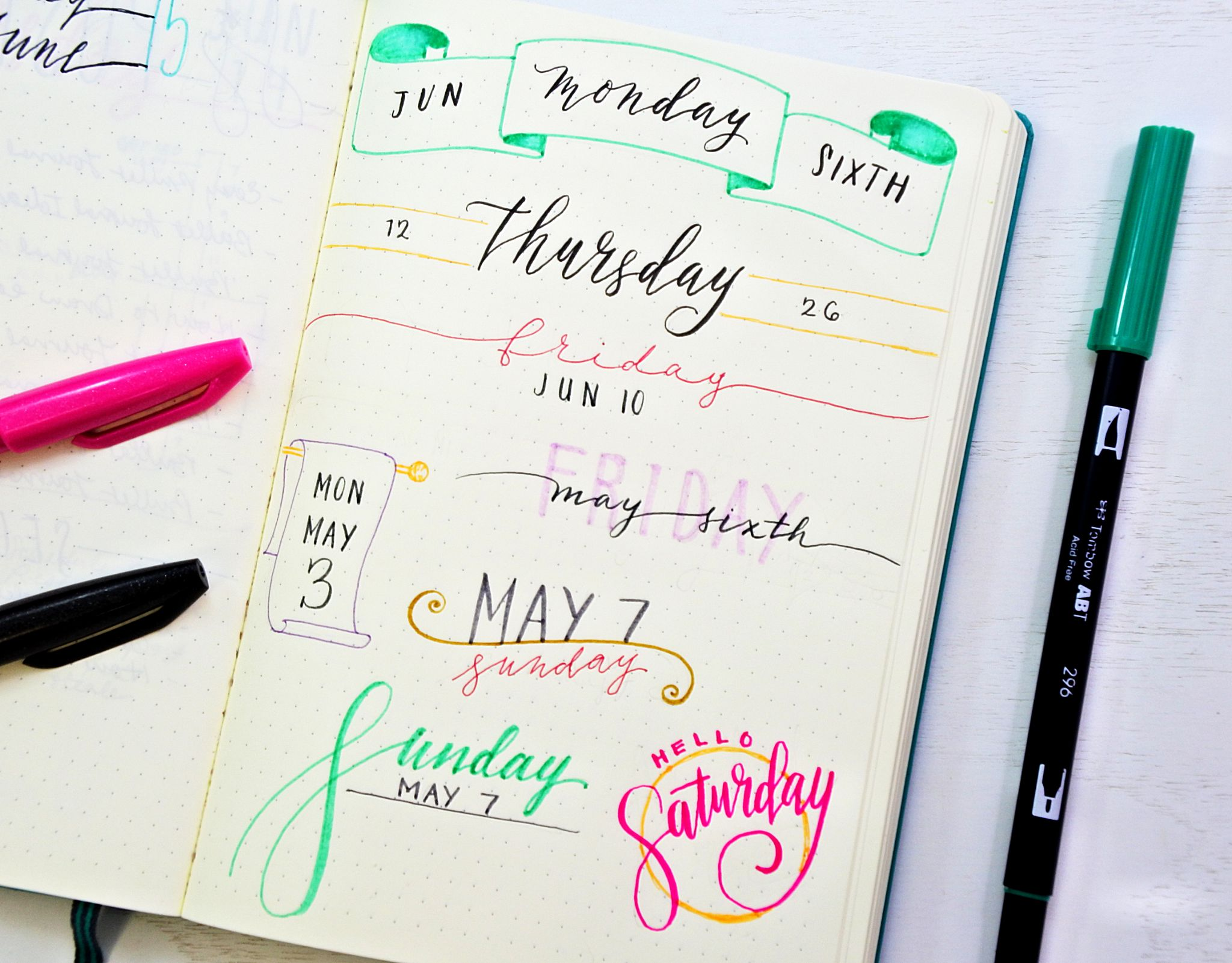 30 easy bullet journal