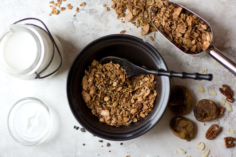 Chocolate Fig Granola