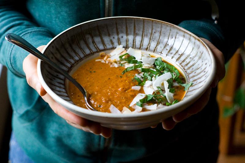 Chipotle Tomato Soup | Sheena Scott, Culinary Nutrition Expert