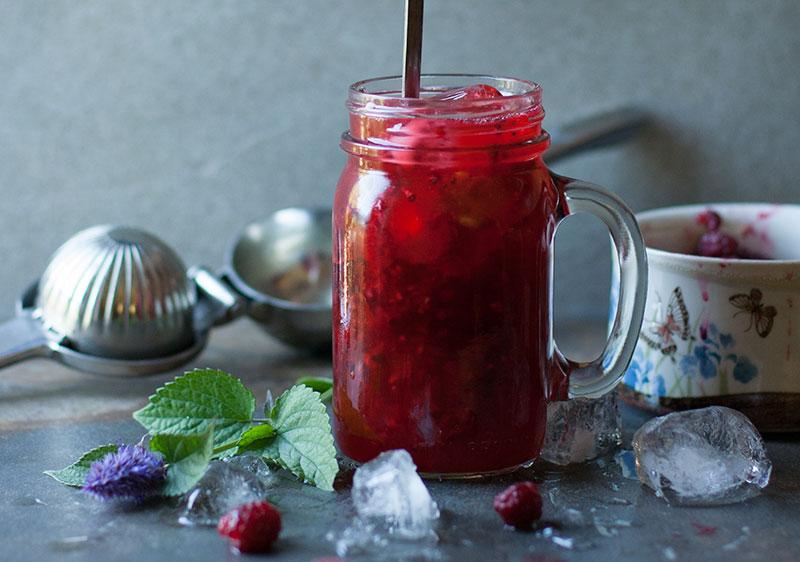 Raspberry Anise Sparkler