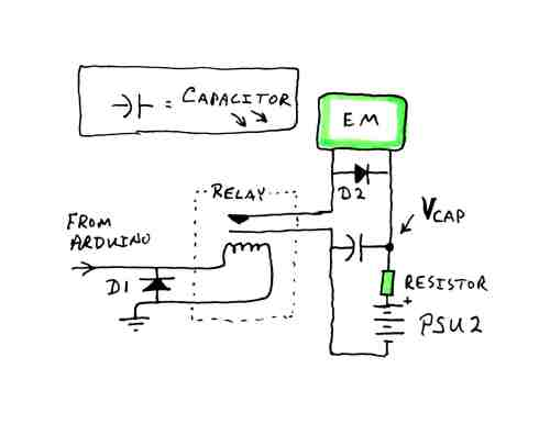 small resolution of picture of capacitor managed power