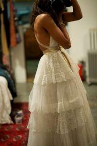 Indie Wedding dress