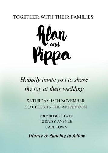 Wedding stationery @SheerEverAfter