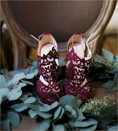 Wedding shoes inspiration @Sheer ever after