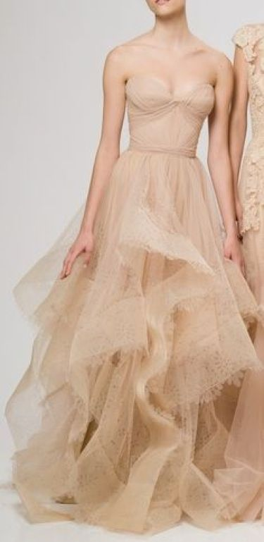 Champagne wedding dress inspiration @Sheer ever after