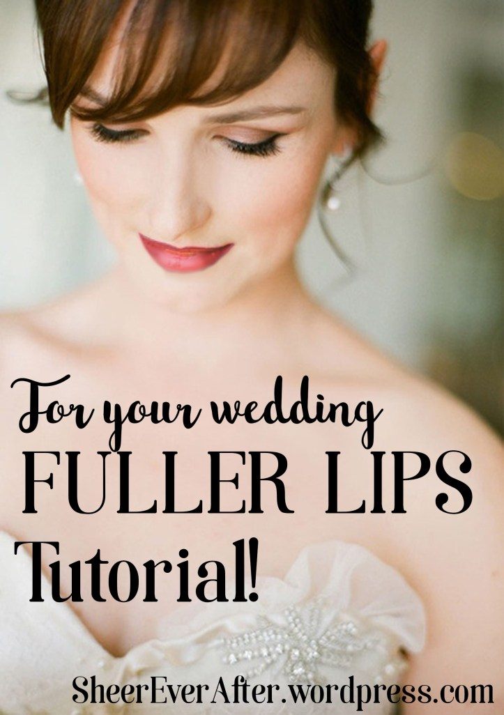 Wedding makeup tutorial @Sheer ever after