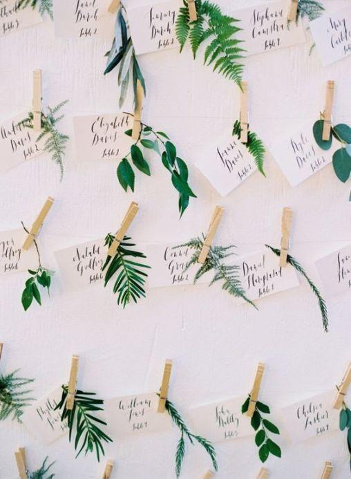 Greenery and botanical wedding inspiration    SheerEverAfter.wordpress.com
