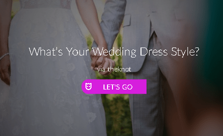 wedding dress style the knot