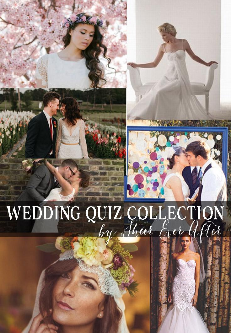 Wedding quiz collection