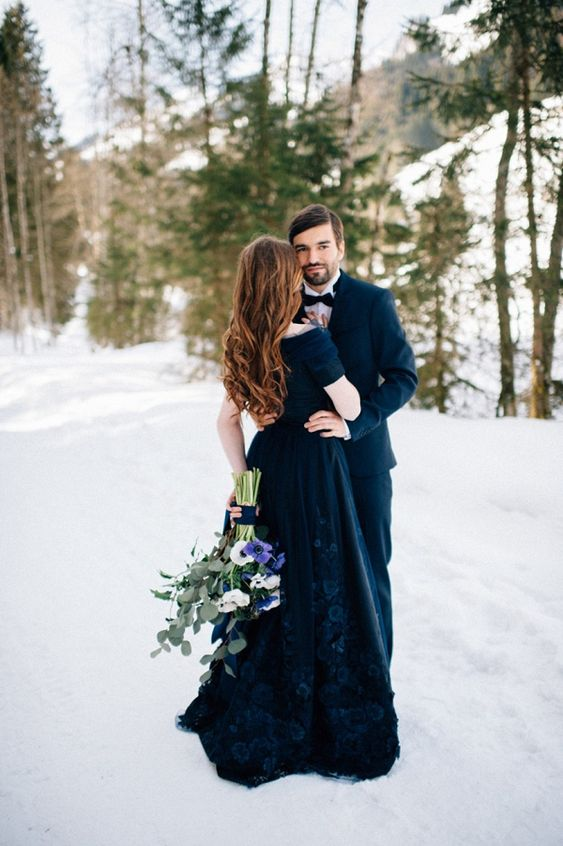 We Think You Might Love These Striking Midnight Blue Grooms Looks and 14 other Fabulous Wedding Ideas for your 2018 Wedding Celebration ..... @Sheer Ever After wedding blog. SheerEverAfter.wordpress.com