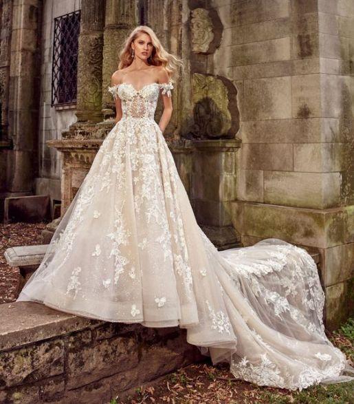 Wedding Dress by Amalia Carr // Alicia Vikander Wedding Ideas // SHEER EVER AFTER WEDDINGS
