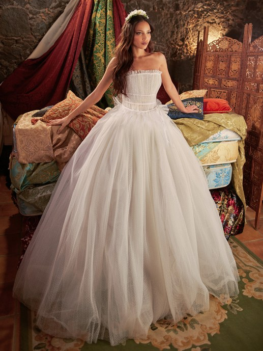 Wedding Dress by Galia Lahav // Alicia Vikander Wedding Ideas // SHEER EVER AFTER WEDDINGS