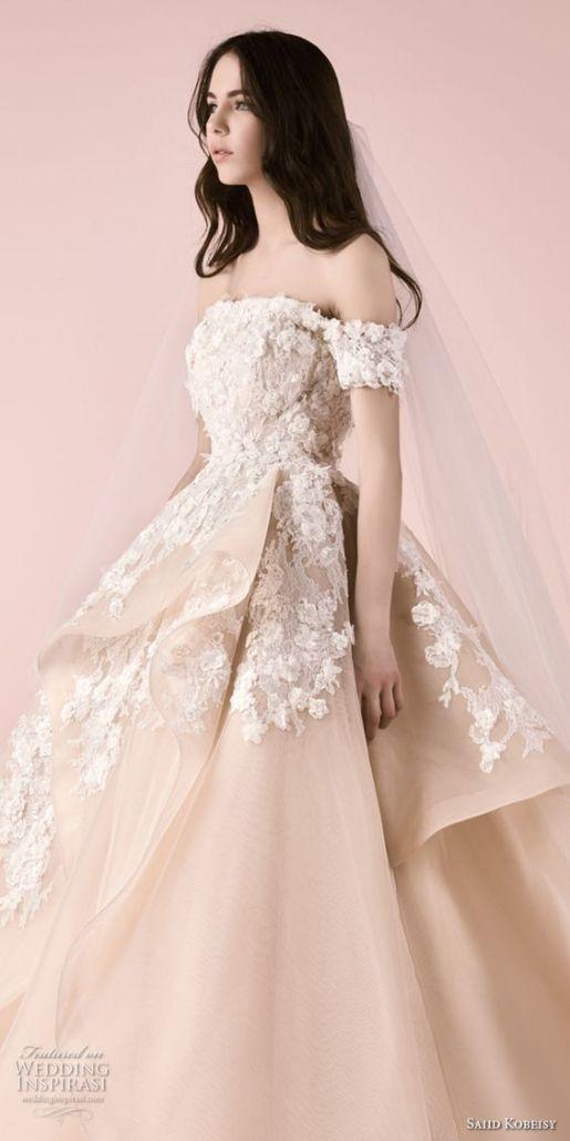 Wedding Dress by Saiid Kobeisy // Alicia Vikander Wedding Ideas // SHEER EVER AFTER WEDDINGS