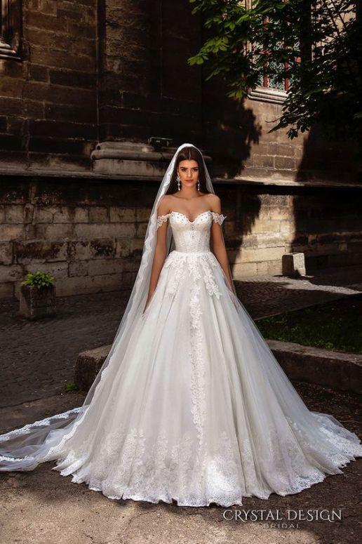 Wedding Dress by Crystal Design // Alicia Vikander Wedding Ideas // SHEER EVER AFTER WEDDINGS