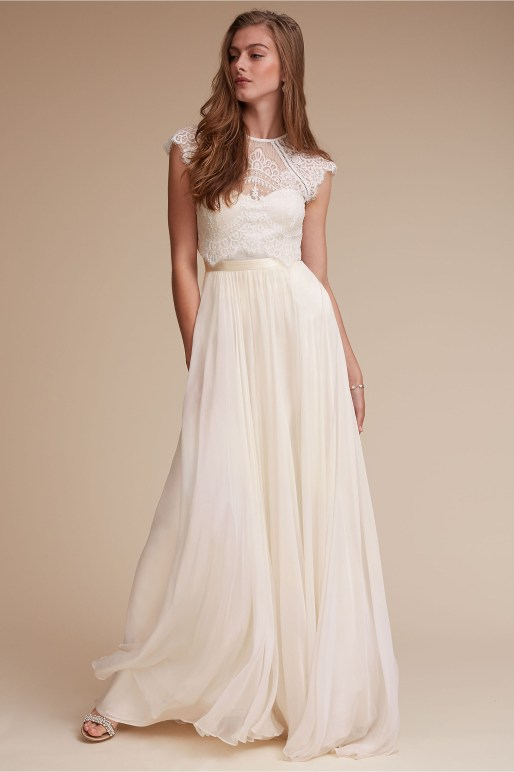 Wedding Dress by BHLDN // Alicia Vikander Wedding Ideas // SHEER EVER AFTER WEDDINGS