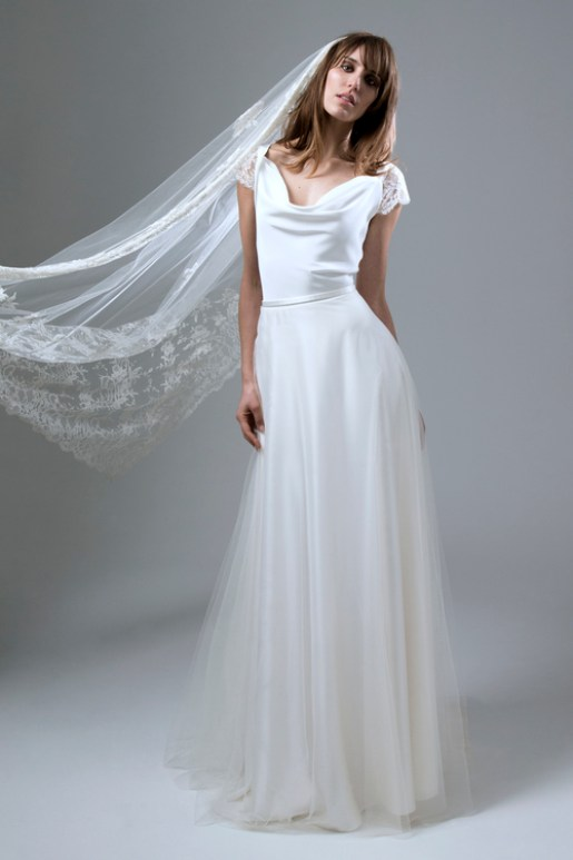 Wedding Dress by Halfpenny London // Alicia Vikander Wedding Ideas // SHEER EVER AFTER WEDDINGS
