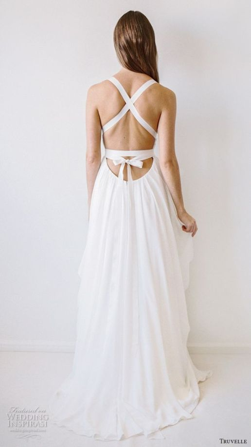 Wedding Dress by Truvelle // Alicia Vikander Wedding Ideas // SHEER EVER AFTER WEDDINGS