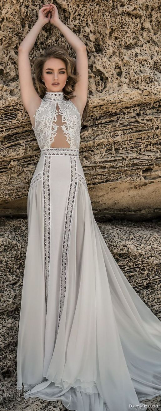 Wedding Dress by Dany Mizrachi // Alicia Vikander Wedding Ideas // SHEER EVER AFTER WEDDINGS