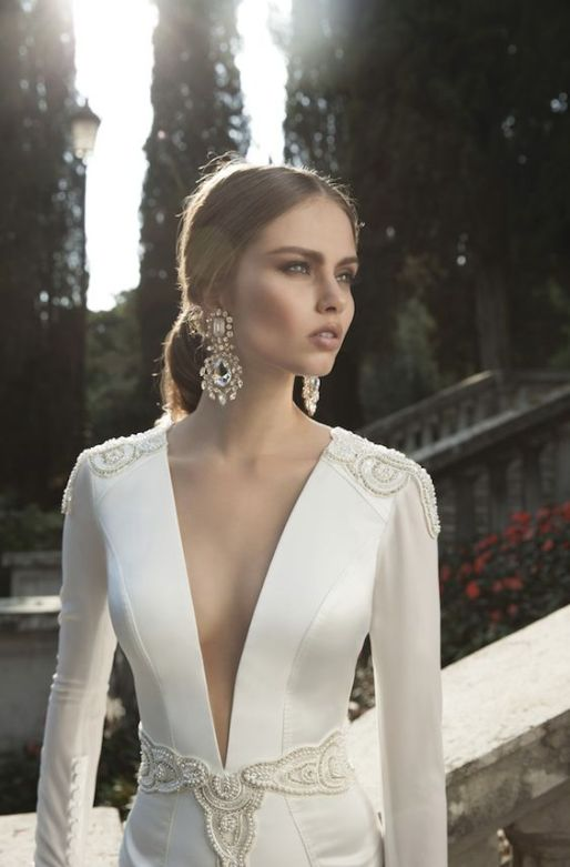 Alicia Vikander Wedding Ideas // Wedding Dress by Berta // SHEER EVER AFTER WEDDINGS