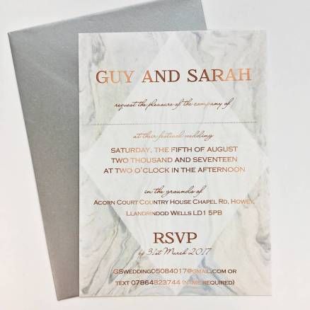 We Think You Might Love These Marble and Metallic Wedding Invites and 14 other Fabulous Wedding Ideas for your 2018 Wedding Celebration ..... @Sheer Ever After wedding blog. SheerEverAfter.wordpress.com