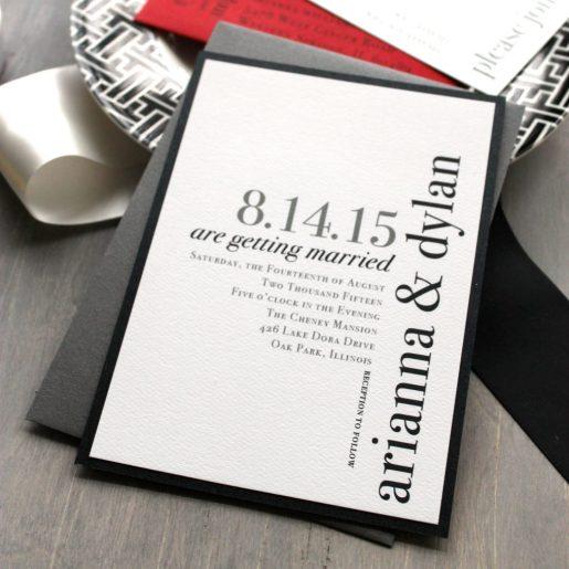 Modern Elegant Invite // FREE FONTS: Modern Elegance Font Collection // SHEER EVER AFTER WEDDINGS FREE FONTS: Modern Elegance Font Collection // SHEER EVER AFTER WEDDINGS