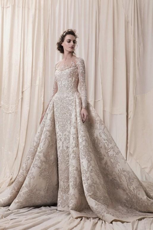 Krikor Jabotian Wedding Dress // Alicia Vikander Wedding Ideas // SHEER EVER AFTER WEDDINGS