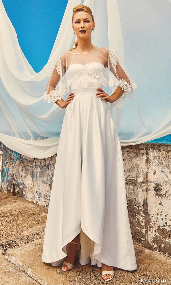 elbeth-gillis-milk-honey-2017-bridal-separates-wedding-dress-lily-cape-chloe-top-harper-skirt-mv