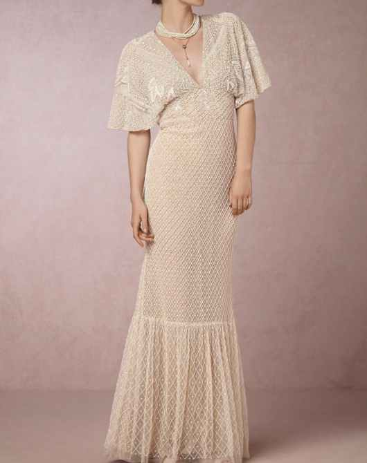 You will love these un-bridal wedding dresses if you can't see yourself wearing a classic gown | This and more at www.SheerEverAfter.com