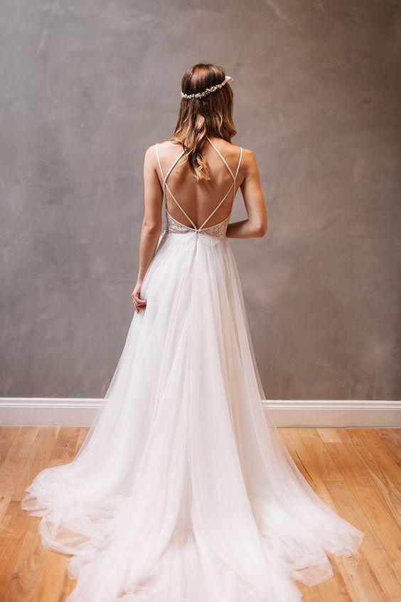 Gorgeous back detail