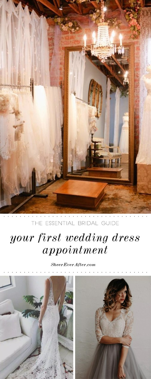 What all Brides must know before booking a wedding dress appointment | Sheer Ever After | Your online maid of honor