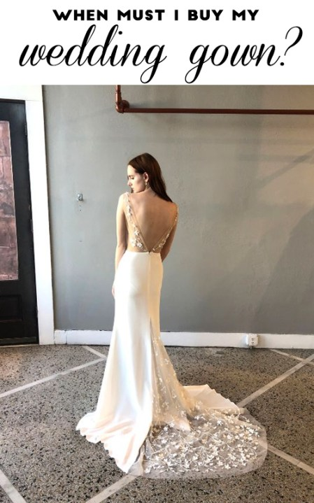 Things you definitely must know before your first wedding dress appointment | Sheer Ever After | Your online maid of honor
