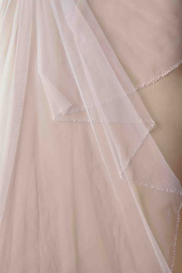 The latest veil collection by Anomalie   Sheer Ever After   Your online maid of honor