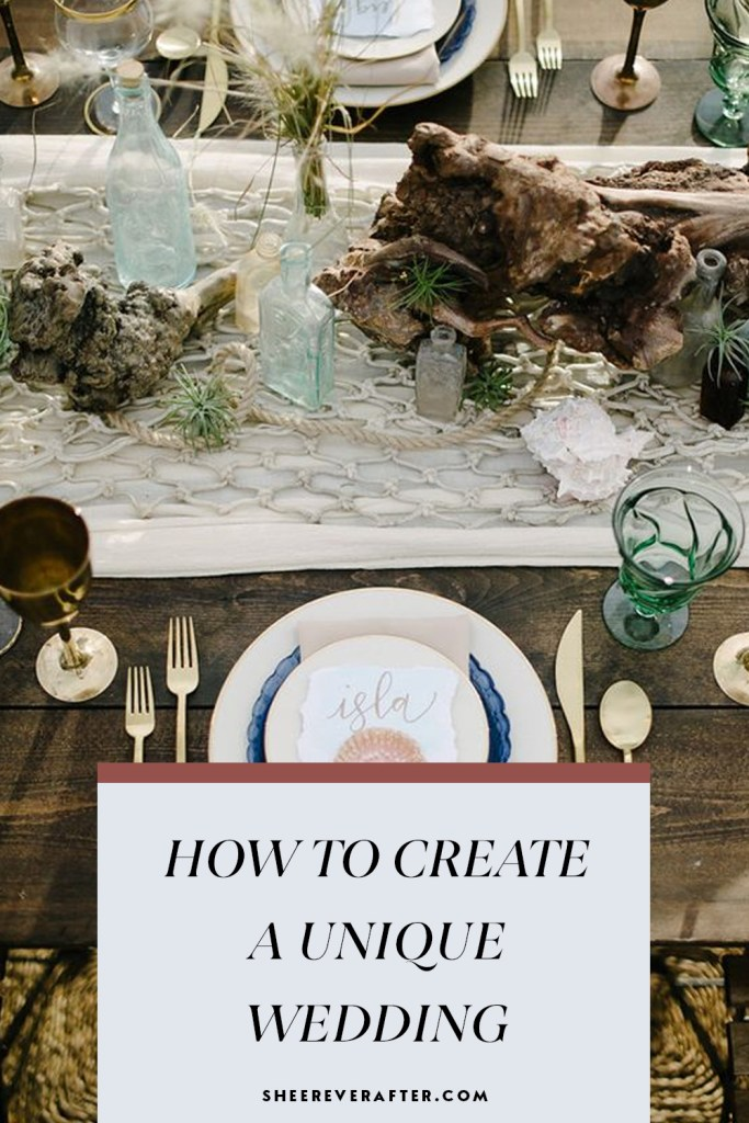 If your idea of a wedding differs from that of tradition - how about planning a wedding which is all about your unique personalities? Here is your free guide and workbook to help you find your unique wedding vision and personal style.